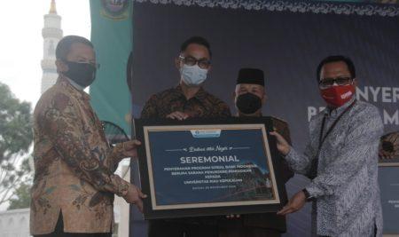 Unrika Terima Bantuan Sarana Pendidikan Program Sosial Bank Indonesia